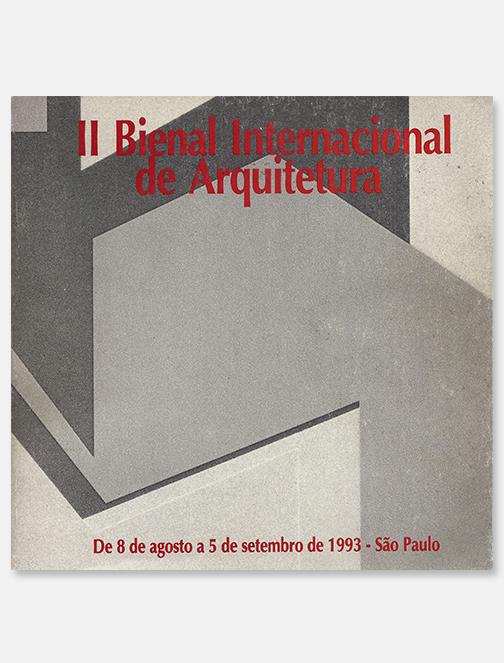 Catálogo da 2º Bienal Internacional de Arquitetura