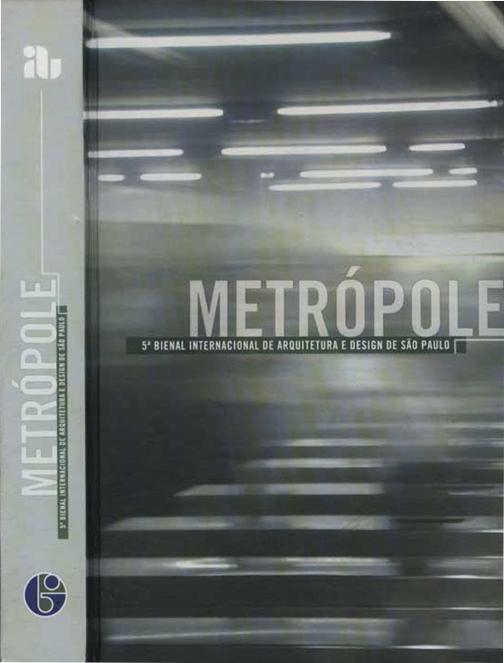 Catálogo da 5º Edição da Bienal Internacional de Arquitetura