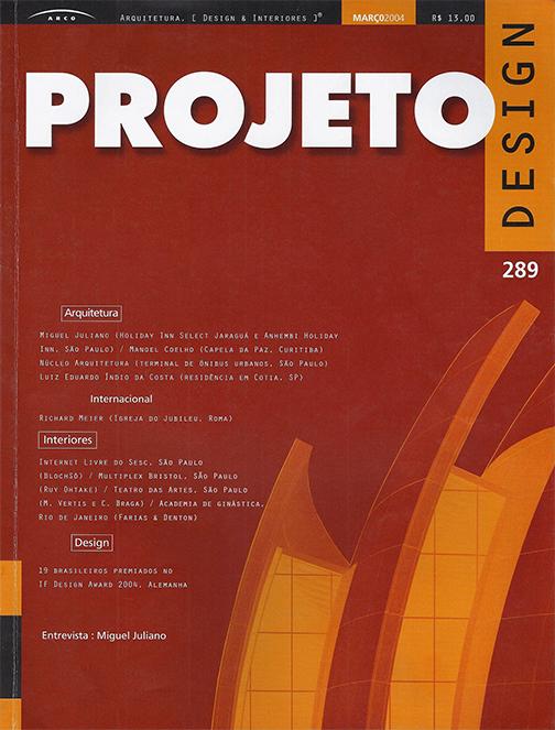 Revista Projeto 289